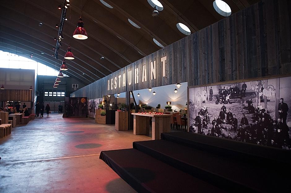 Neckerhal Mechelen tijdens de première van de musical 14-18