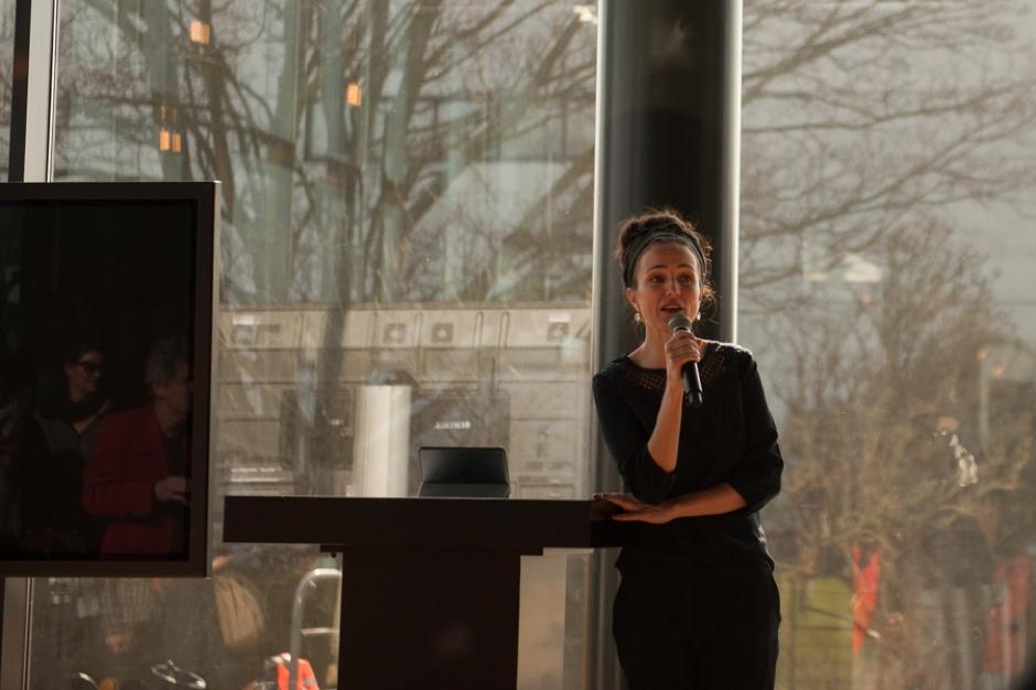 Daphne Bunskoek vertelt over de opening van Theater Amsterdam