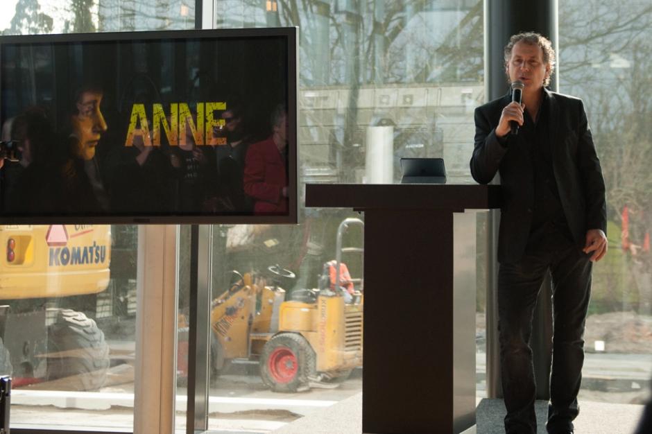 Robin de Levita vertelt over Theater Amsterdam en de voorstelling Anne