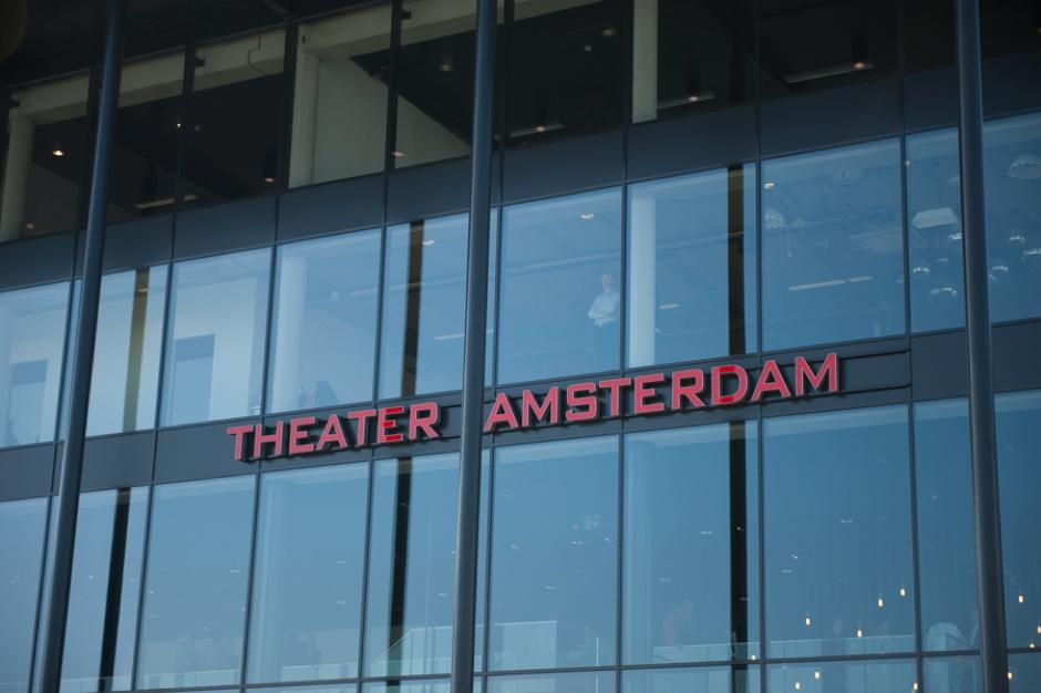 Voorgevel van Theater Amsterdam in Amsterdam