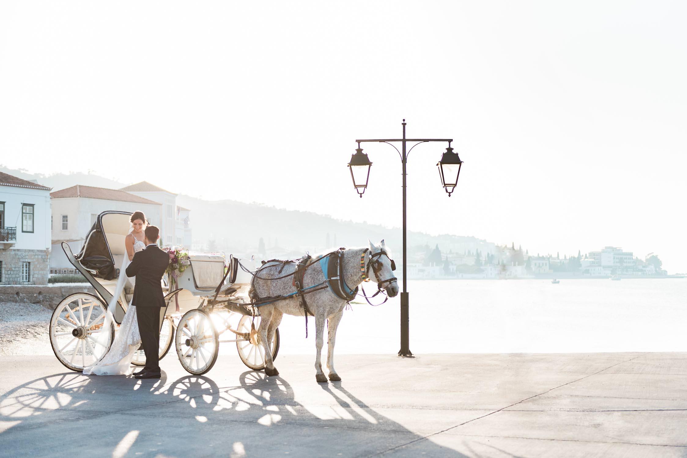 Bruiloft in Griekenland, vastgelegd door een Nederlandse trouwfotograaf