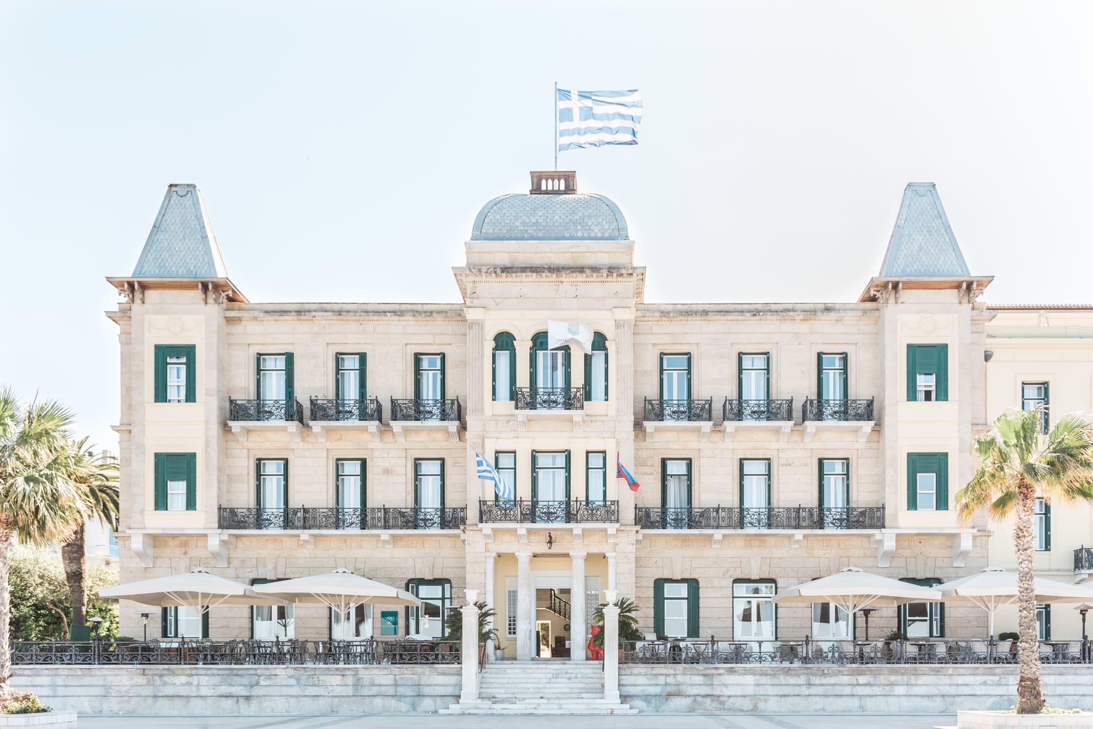 Poseidonion hotel op het Griekse eiland Spetses