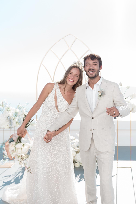 Prijzen trouwfotograaf voor een bruiloft in het buitenland zoals Frankrijk of Santorini